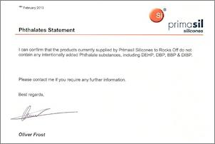 Primasil for Rocks Off